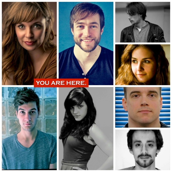 YOU ARE HERE cast